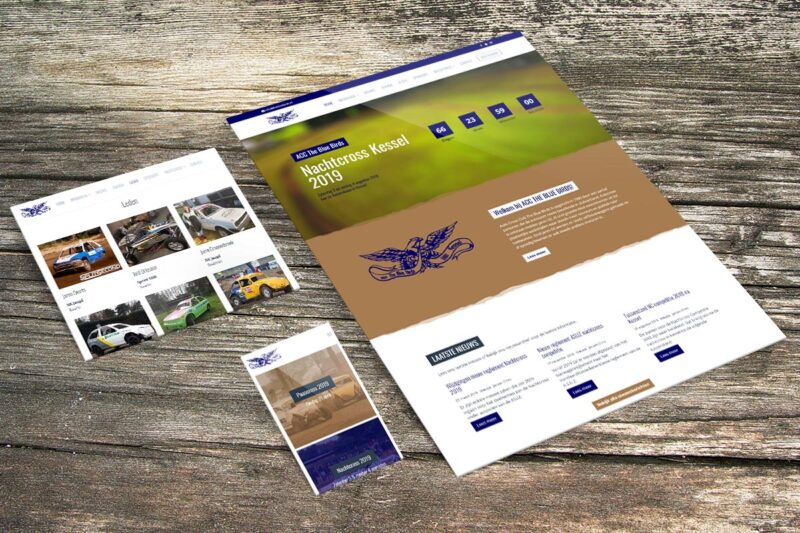 Nieuwe website voor ACC The Blue Birds uit Kessel - Mediative webdesign & development, Beesel Limburg Nederland